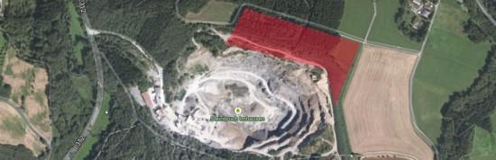Geplante Erweiterung - Quelle: Google Maps