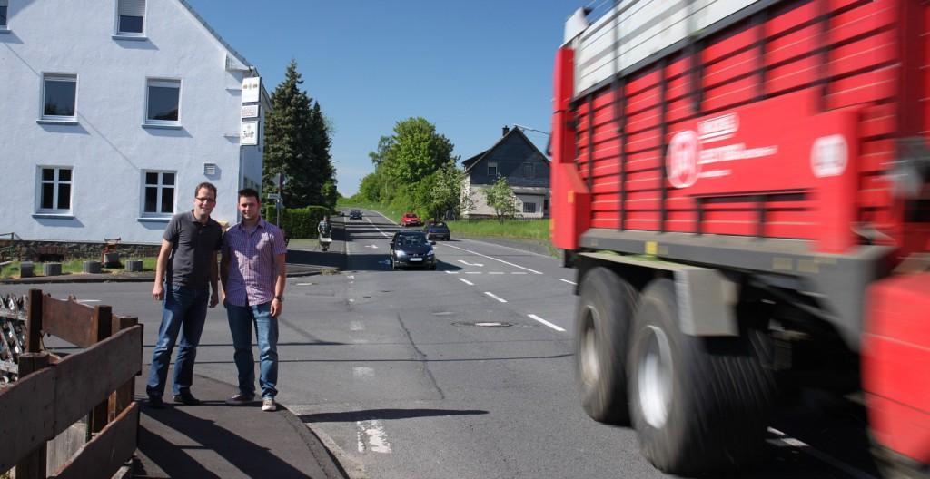 Kreisverkehr L333 K32 Kohlberg